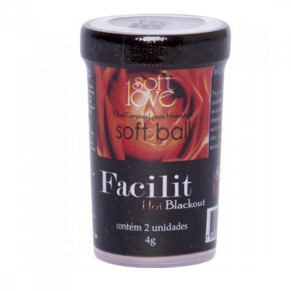 Soft Ball Bolinha Facilit Anal 2 Unidades - Soft Love