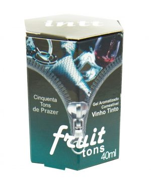 Fruit Sexy 50 Tons Gel Comestível 40ml Intt