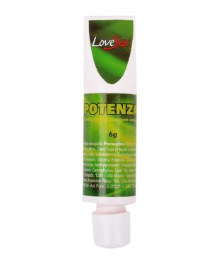 Potenza Creme Retardador 6g - Love Sex
