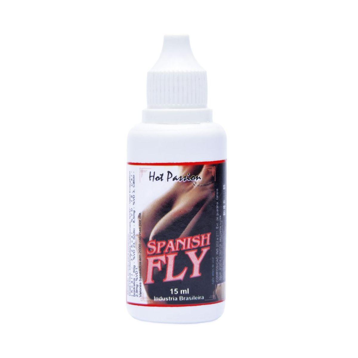 Gotas Afrodísiacas Spanish Fly Hot Passion 15ml
