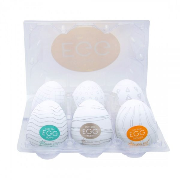 Caixa 06 Unidades Egg Magical Kiss