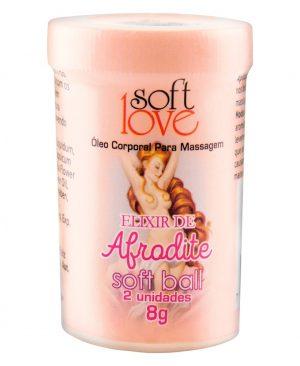 Soft Ball Bolinha Elixir De Afrodite 8g 02 Unidades - Soft Love