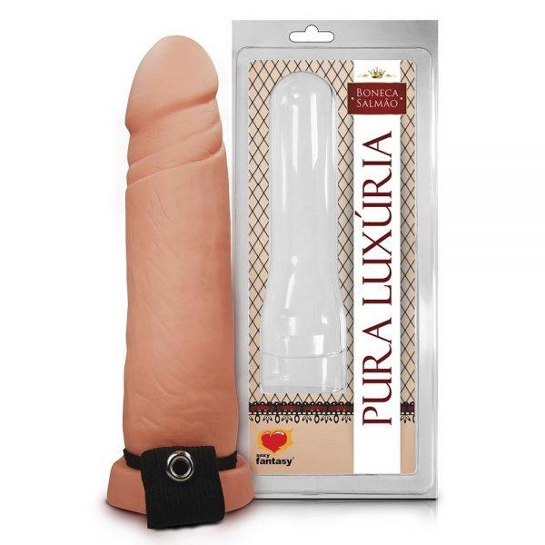 Capa Peniana Realística 17 X 4cm Sexy Fantasy