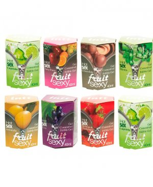 Fruit Sexy Gel Coméstivel Hot 40ml Intt