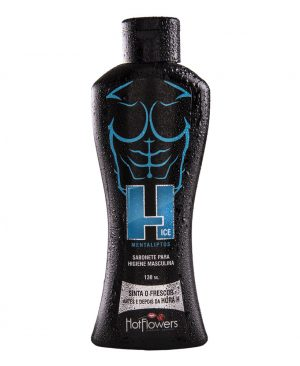 H Ice Sabonete Higiene Masculina 130ml - Hot Flowers
