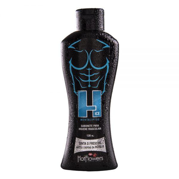 H Ice Sabonete Higiene Masculina 130ml - Hot Flowers