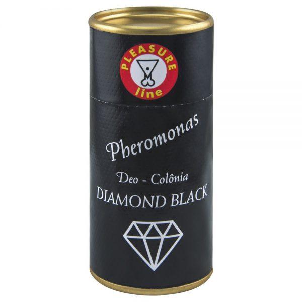 Diamond Black Deo Colônia Masculina Pheromonas 20ml