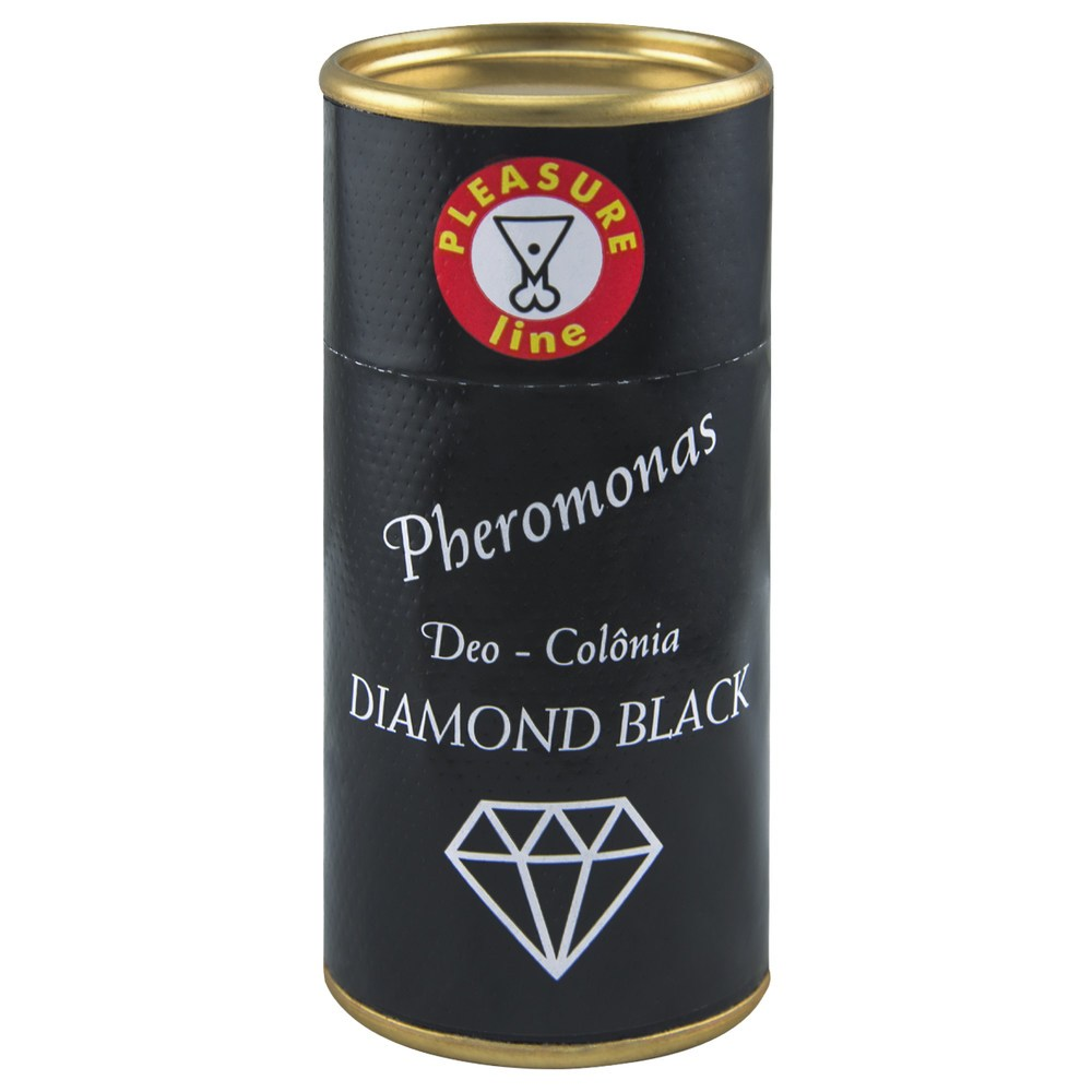 Diamond Black Deo Colônia Masculina Pheromonas 20ml