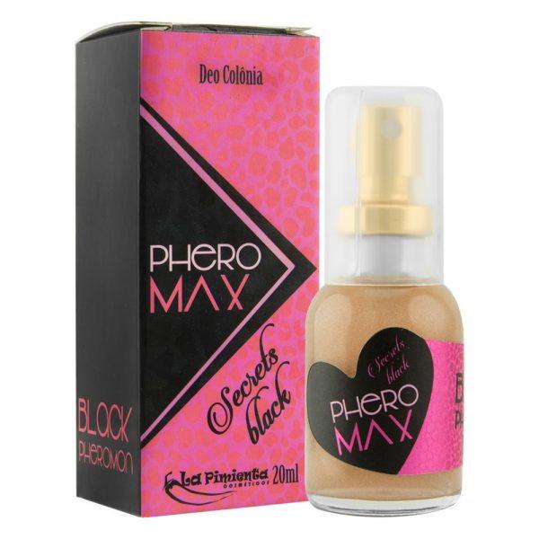 Perfume Phero Max Secrets Black 20ml La Pimienta