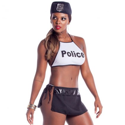Fantasia Sensual Policial Sexy Sapeka